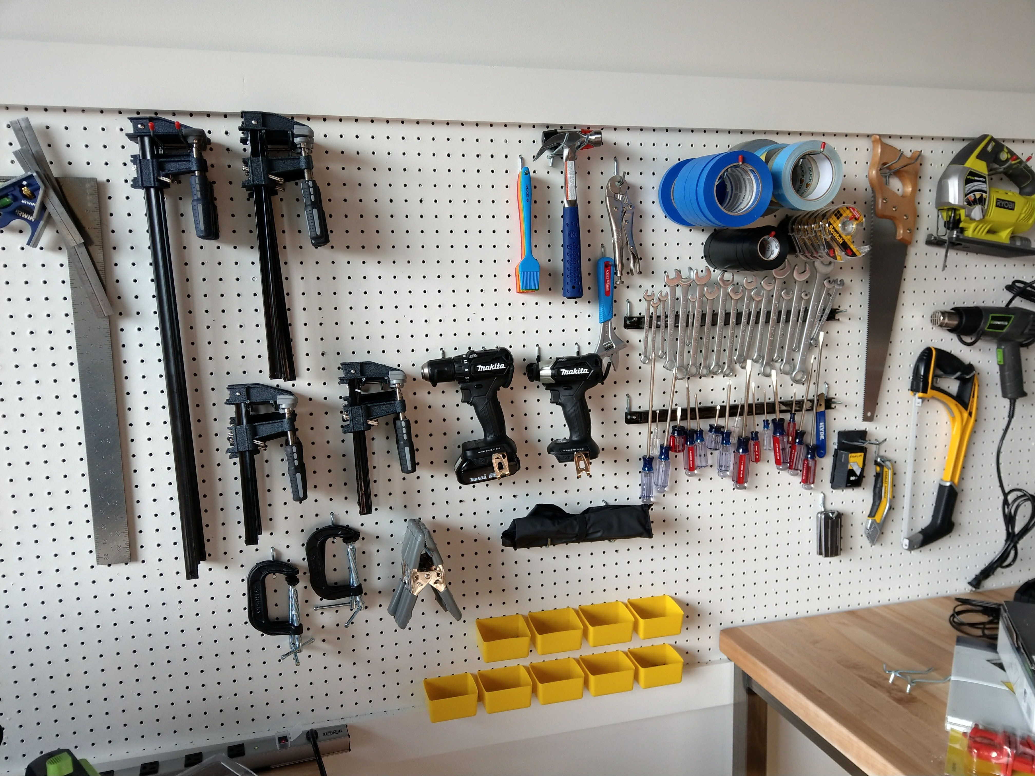 Picture of tool wall